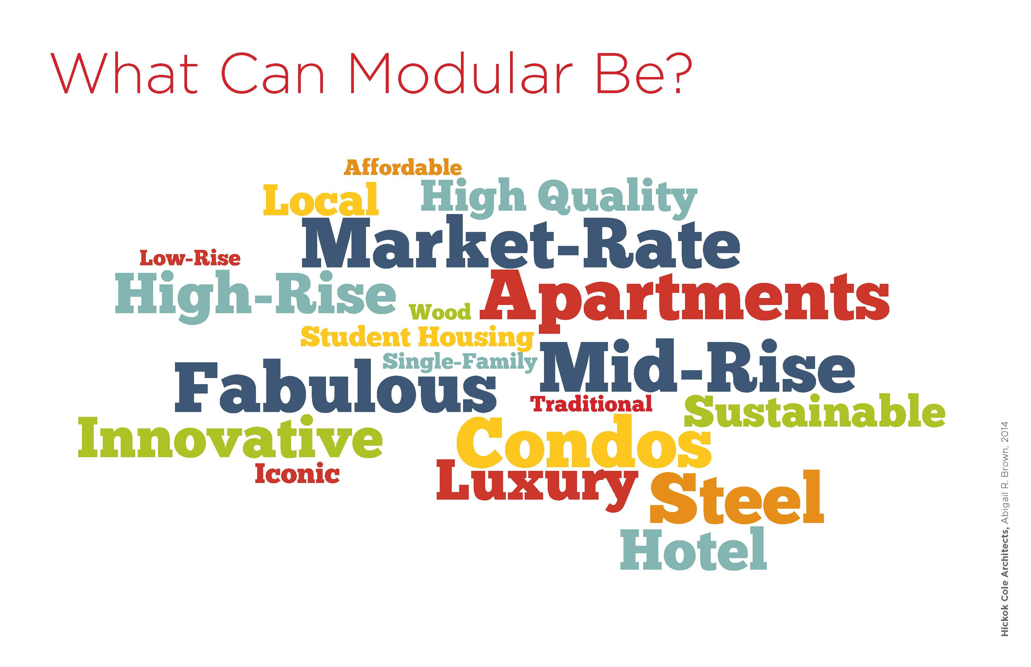 What can Modular Design Look Like